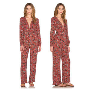 Free People Lisa Some Like It Hot Jumpsuit 0